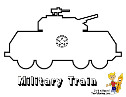 ironhorse army train coloring pages yescoloring free