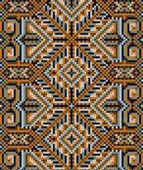 Oriental Design Persian Oriental Style Rug Mosaic Pattern Casa Pinterest