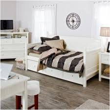 white wood daybed with storage drawers decofurnish