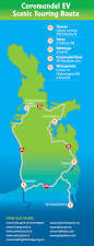 Charging Station Map Thames Coromandel District Council Coromandel Ev Scenic Touring
