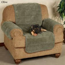 Cotton Sofa Slipcovers by Microplush Pet Furniture Covers With Longer Back Flap
