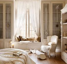 French Country Bedroom Furniture by Lovely French Country Bedroom With White Wingback Chair And Flowy