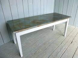 zinc table tops for sale round zinc table zinc table top atech me
