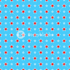 Blue Flag White Star Blue Dr Seuss Paper With A Red And White Star Pattern Royalty