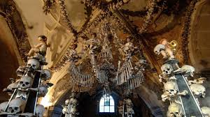 church chandeliers bbc travel the church of 40 000 corpses