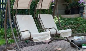 Glider Swings With Canopy by Bench Lowes Patio Swing Porch Swing Houston Porch Swings Porch