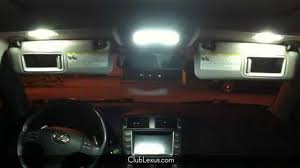 vsc light lexus is220d why won u0027t the interior lights turn on or off in my lexus youtube