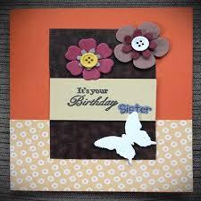 Hand Made Card Designs Handmade Birthday Cards Design For Sister Handmade4cards Com