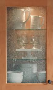 Glass Cabinets Kitchen by Here Is A Great Way To Update Plain Glass Fronts Of Kitchen