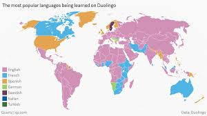 Iberian Peninsula Map The Languages The World Is Trying To Learn According To Duolingo