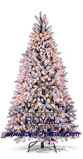 royal flock line artificial trees with