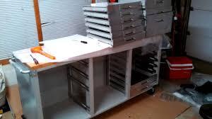 furnitures work bench with storage rolling workbench work