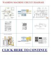 washing machine circuit diagram front loading washing machine