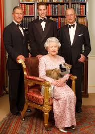 a lovely photograph of hm queen elizabeth ii with her husband