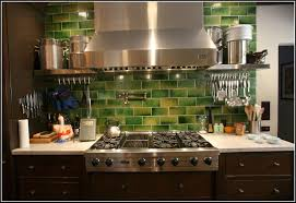 green glass tiles for kitchen backsplashes tiles home design