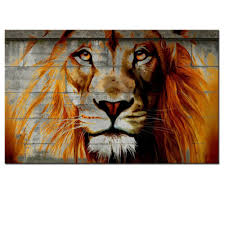 Prints For Home Decor Amazon Com Unique Lion Graffiti On Wall Framed African Lion