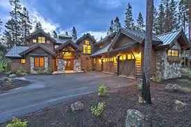 plan 54200hu stunning mountain home with four master suites