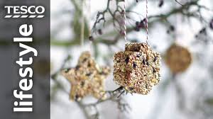 how to make birdseed ornaments tesco living