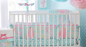 Geometric Crib Bedding by Bedding Set Attractive Hot Pink And White Chevron Crib Bedding