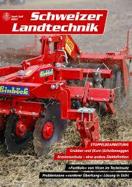 K Hen Schweiz Schweizer Landtechnik 04 2015 By Schweizerischer Verband Für