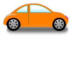 car clipart orange car clip at clker vector clip royalty