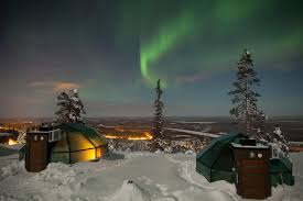 exclusive luxuryglassigloos in levi lapland this is the most