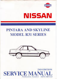 nissan skyline workshop manual r31 pdf