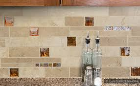 elegance of travertine kitchen backsplash kitchen designs