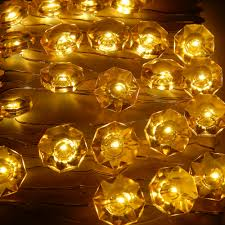 Red Heart Fairy Lights by 3m 40 Leds Diamond Modelling Fairy Lights Waterproof Battery