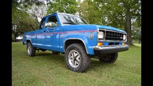 Last Year Ford Ranger 1988 Ford Ranger Xlt 4x4 Youtube