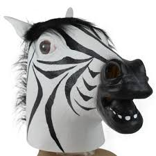 popular zebra halloween mask buy cheap zebra halloween mask lots