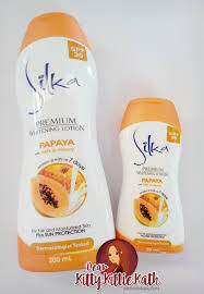 product review silka premium whitening papaya lotion spf30 with