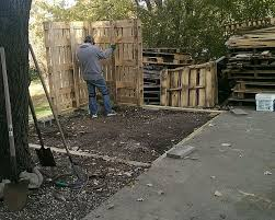 How To Make A Shed Out Of Wood by Pallet Shed 9 Steps With Pictures