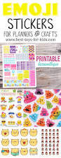 emoji planner stickers and arts and crafts stickers u2014 best toys