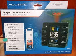 Coolest Clocks by Acurite Inetlli Time Projection Clock Review And Giveaway