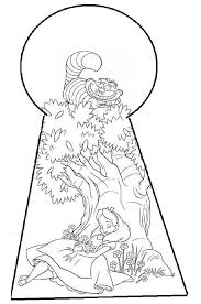93 best alice in wonderland coloring pages images on