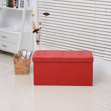 Ottoman Storage Tray by Ottomans Storage Ottoman With Tray Red Suede Ottoman Round Red