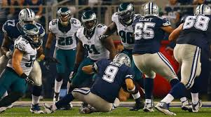 philadelphia eagles defense batters tony romo in blowout victory