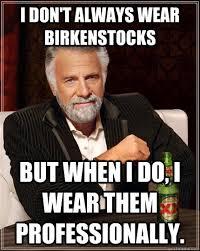 Birkenstock Meme - birkenstock believers come inside ar15 com