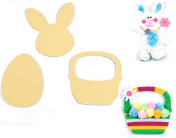 24 easter shapes sticky boards for kids mess free crafts