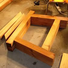 Kreg Jig Table Top Ana White 4 4 Farmhouse Truss Beam Table Wholesteading Com