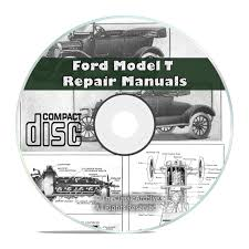 classic ford model t car repair construction operation manuals