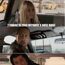 The Rock Meme Car - best hip hop memes genius