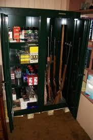 stack on double door gun cabinet stack on 16 gun convertible double door cabinet gcdg 9216 at the