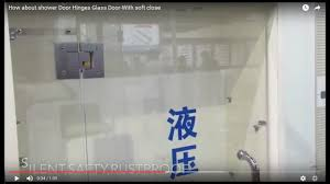 how about shower door hinges glass door with soft close youtube