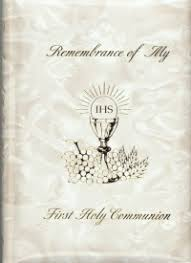 my communion remembrance of my holy communion white mass book giftables