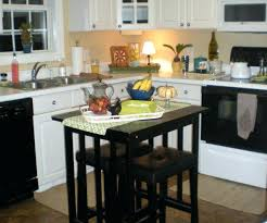Portable Kitchen Island With Bar Stools Portable Kitchen Island With Bar Stools Hpainted Portable