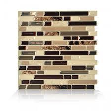 Bellagio Keystone Peel And Stick Tile Backsplash Online Shop - Smart tiles backsplash