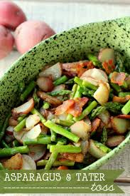 asparagus tater toss this is so and easy recipe on