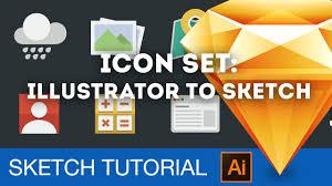 icon set adobe illustrator to sketch in 6 minutes u2022 sketch 3